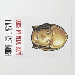 C-3PO Poster Art Rug