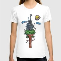 castle in the sky T-shirts featuring Castle in the Sky by Sarah Maurer