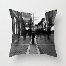 Star Light [Black & White] Throw Pillow