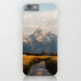 Grand Teton National Park at Sunrise iPhone Case
