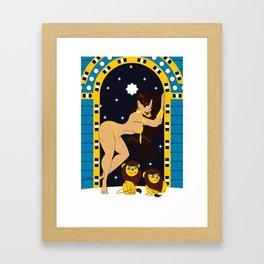 Divine Dames: Ishtar Framed Art Print