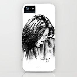 Lana Parilla Study iPhone Case