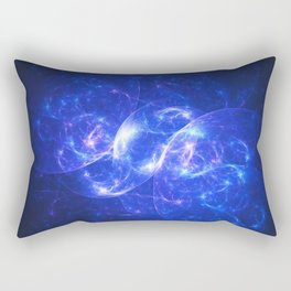 Midnight Nebula Rectangular Pillow