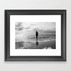 Troon Seafront Framed Art Print