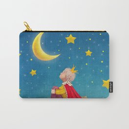 The Little Prince  on a small planet  in  night sky  Carry-All Pouch