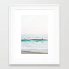 Riviera Framed Art Print