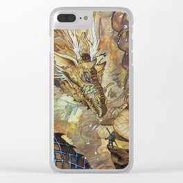 Appealing to the Gods Clear iPhone Case