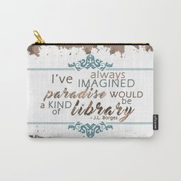 Paradise = Library Carry-All Pouch