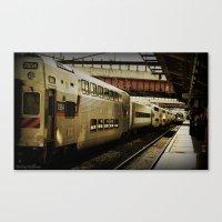marc Canvas Prints featuring Marc Train by Reggie Thomas Photos