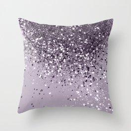 df2a186984ebf Sparkling Lavender Lady Glitter #2 #shiny #decor #art #society6 Throw Pillow