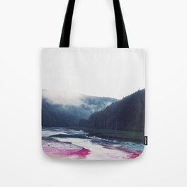 Low Tide in the Valley Tote Bag