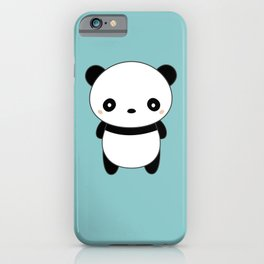 Kawaii Cute Panda iPhone Case