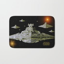 Galactic Battle Cruisers  Bath Mat