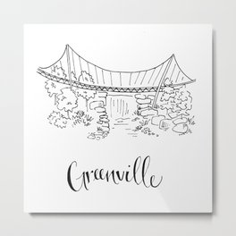 Greenville Metal Print
