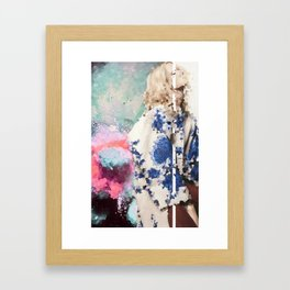 Crystal Explosions Framed Art Print