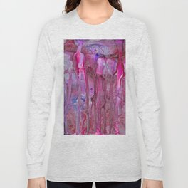 Silver Stalagmites Long Sleeve T-shirt