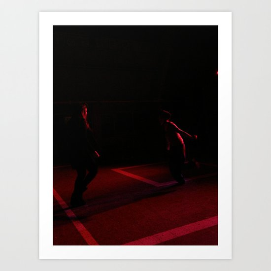 Only us two Art Print