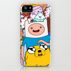 Adventure Time Slim Case iPhone (5, 5s)
