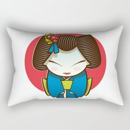 Geisha Rectangular Pillow