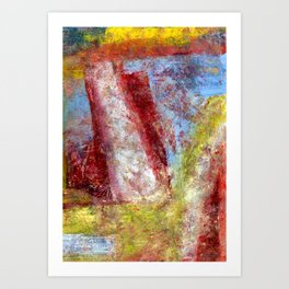 The Tower in a frame Art Print