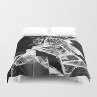 glass Duvet Covers featuring glass by CarolineCoatalem