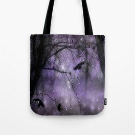 Misted Purple  Tote Bag