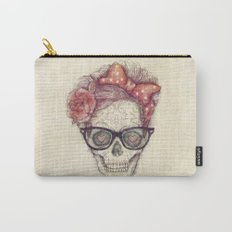 Hipster Girl is Dead Carry-All Pouch