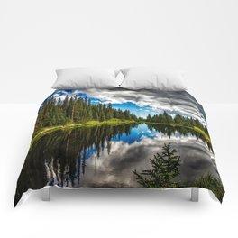 Lake Irene in Colorado Comforters