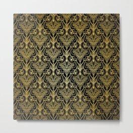 Lace elegant vintage pattern Metal Print