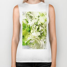 439 - Abstract drink design Biker Tank