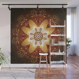 Elegant, decorative kaleidoskop Wall Mural