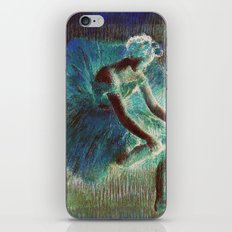 Ballerina Teal iPhone & iPod Skin