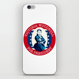 Victoria Woodhull iPhone Skin