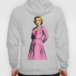 Marilyn In Pink Hoody