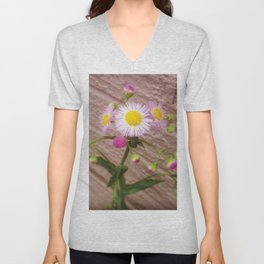 Urban Flower Unisex V-Neck