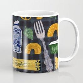 Vintage macaroni pattern Coffee Mug
