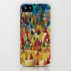 Colorful Conifers iPhone (5, 5s) Slim Case