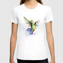 Humming Bird - Ribbons T-shirt
