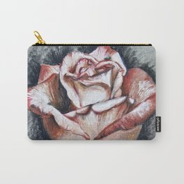 "Drawing ""Contrasting Rose"" Carry-All Pouch"