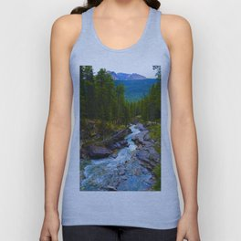 Beauty Creek in Jasper National Park, Canada Unisex Tank Top