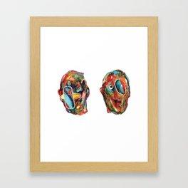 2Acres1Moles Framed Art Print