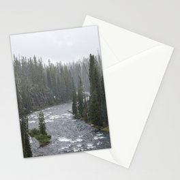 Yellowstone Forest - Nature Photography Stationery Cards