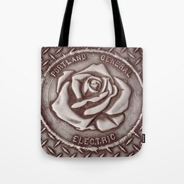 PDX Manhole Cover Tote Bag