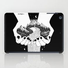 the world in my hand iPad Case