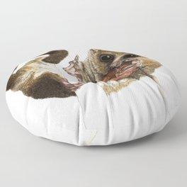 Munching Mouse Lemur Floor Pillow