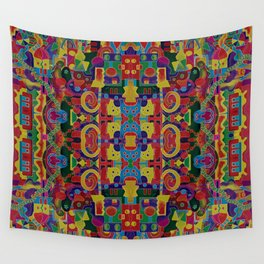 Cloisonne Color Joy Wall Tapestry