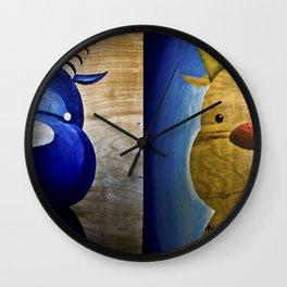 2 Bubs Wall Clock