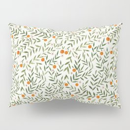 Oranges Foliage Pillow Sham