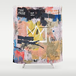 Boom For Real Shower Curtain