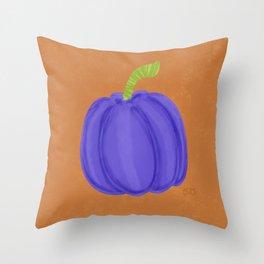 Orange season Throw Pillow